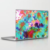 oriental Laptop & iPad Skins featuring Oriental Happiness by Aloke Design