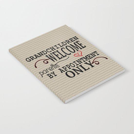 Grandchildren Welcome Notebook