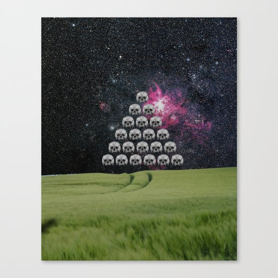 The truth is dead 7 · Advent Canvas Print