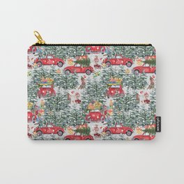 Dachshund decorates the christmas tree Carry-All Pouch