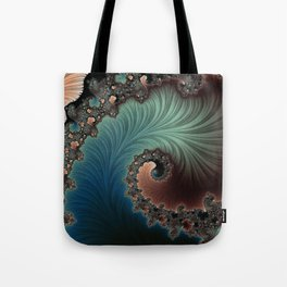 Velvet Crush - Fractal Art Tote Bag