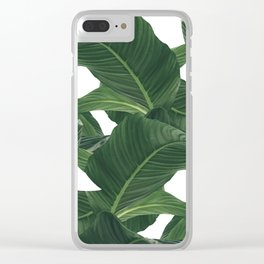 palm waves Clear iPhone Case