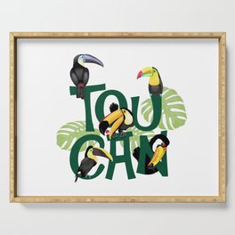 TOUCAN Serving Tray