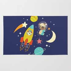 Space Critters Rug