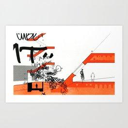 Detroit series 6 Art Print