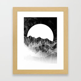 As a mist rolls in... Framed Art Print