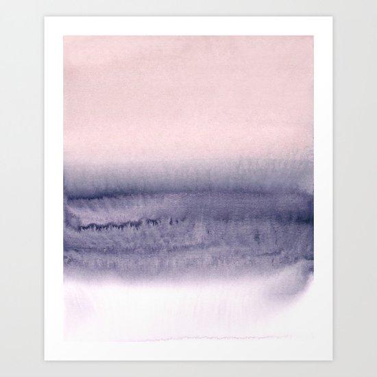 minimalist atmospheric landscape 2 Art Print