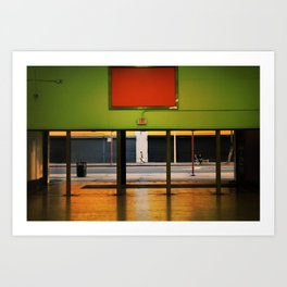 Out in the Street - Los Angeles #67 Art Print