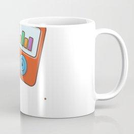 Audio music player with earphone 1 Coffee Mug