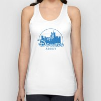 downton abbey Tank Tops featuring The Wonderful World of Downton Abbey by rydrew