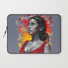 Paola- Red Paint Laptop Sleeve
