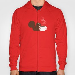 Squirrel Coffee Lover Hoody