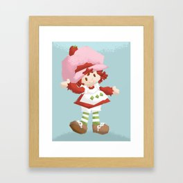 Strawberry Shortcake Framed Art Print