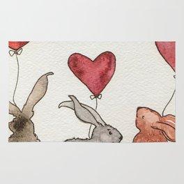 Honey Bunny Love Rug