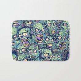 Zombie Repeatable Pattern Bath Mat