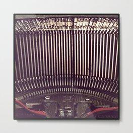 Inner Workings Of The Smith-Corona Metal Print