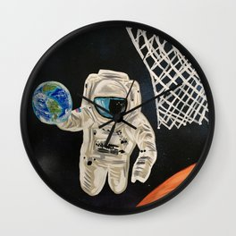 Space Games Wall Clock