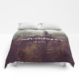 And So The Adventure Begins - Pacific Northwest Comforters