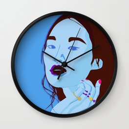 fake it till you make it Wall Clock