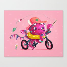 Summer Tako Canvas Print