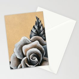 A Rose For My Love Stationery Cards