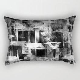 Glitch Panda 10 Rectangular Pillow