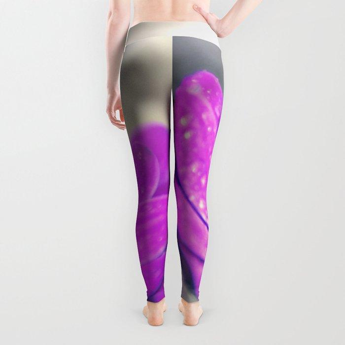 Sunshine flower purple Leggings