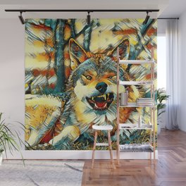 AnimalArt_Wolf_20170606_by_JAMColors Wall Mural