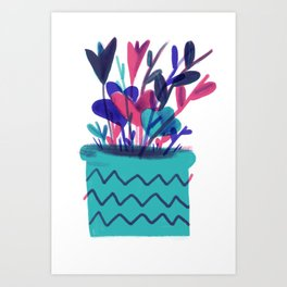 potted present Art Print