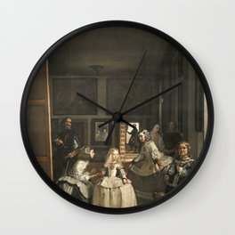 Velazquez - Las Meninas Wall Clock