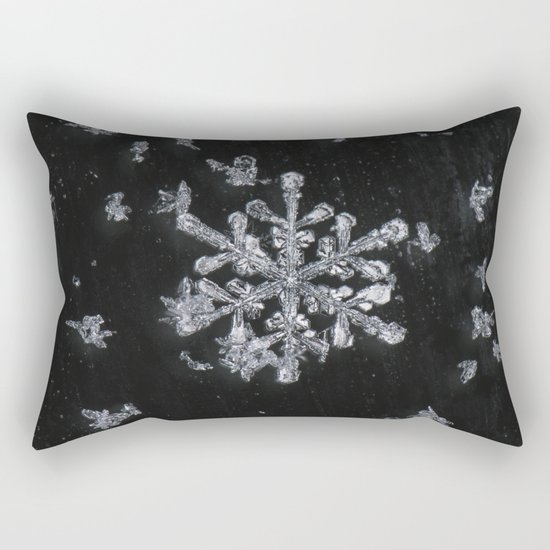 Snowflake Rectangular Pillow