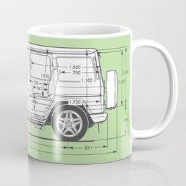 Blueprint coffee mugs society6 gwagon blueprint green coffee mug malvernweather Gallery