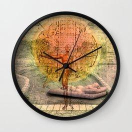 hermaphrodite II Wall Clock