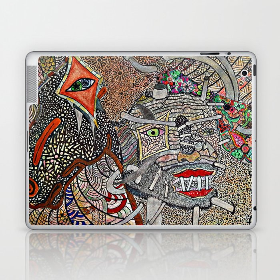 Mounted Laptop & iPad Skin