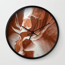 ANTELOPE CANYON XXVIII Wall Clock