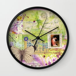 true romance Wall Clock