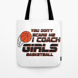Coach Girls Basketball Sport Gift Tote Bag