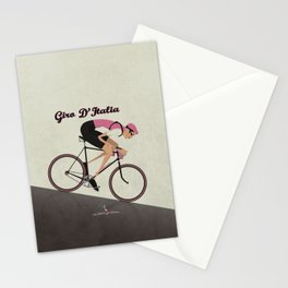 Giro D'Italia Cycling Race Italian Grand Tour Stationery Cards