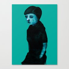 Night Girl IV Canvas Print