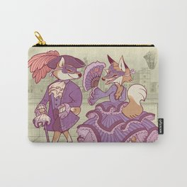 The Shiba and the Fox Carry-All Pouch