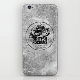 British Rockers 1967 iPhone Skin