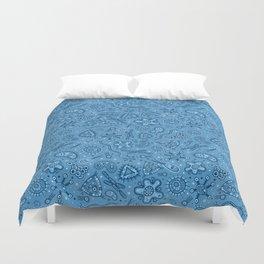 Bacteria - Thousands Of 'Em (Blue) Duvet Cover
