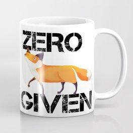 Zero Fox! Coffee Mug