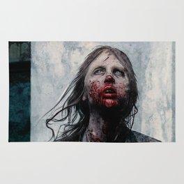 The Lone Wandering Walker - The Walking Dead Rug