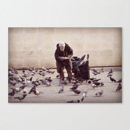 Human greatness Canvas Print