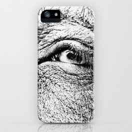 Look at me! iPhone Case