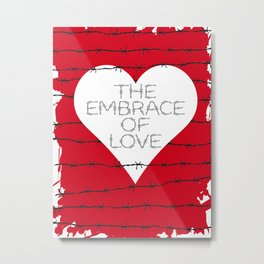 The embrace of love Metal Print