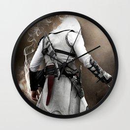 Behind Assassin cr Wall Clock