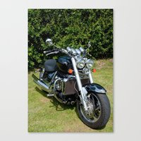 motorbike Canvas Prints featuring Motorbike by Imager