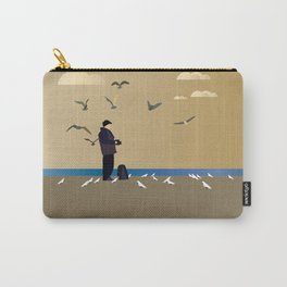 Photographer on the beach Carry-All Pouch